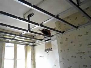 Comment Renover Un Plafond : ferraillage pour plafond en r novation r nover une maison ~ Dailycaller-alerts.com Idées de Décoration