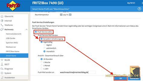 fritzbox 7490 smart home fritz steckdose mit leistungsmessung deine waschmaschine ist fertig meintechblog de