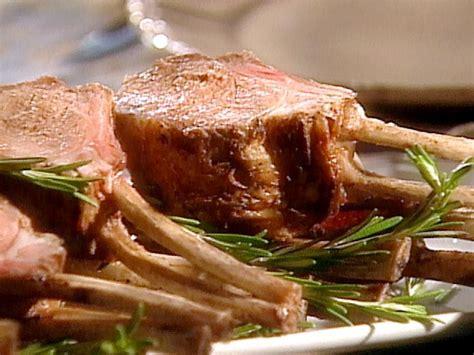herb marinated rack  lamb recipe food network