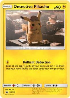 Jun 11, 2021 · synopsis: Pokémon Detective Pikachu news (March 15): Pokémon TCG / Graphic Novel - Perfectly Nintendo