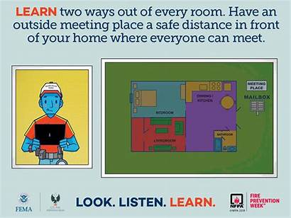 Fire Drill Prevention Week Campaign Listen Safety
