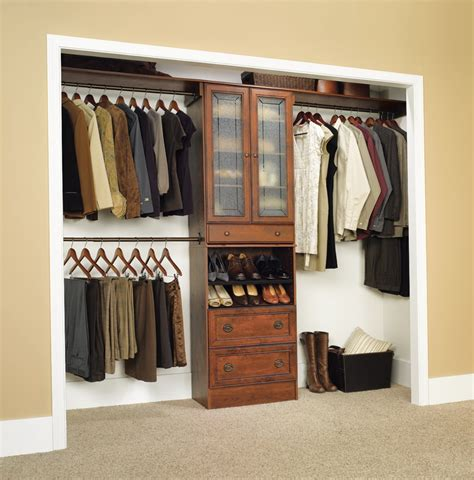 Bedroom Closet Organizers Lowes With Reachin Closet