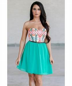 Bright Southwestern Print Dress Cute Printed Sundress