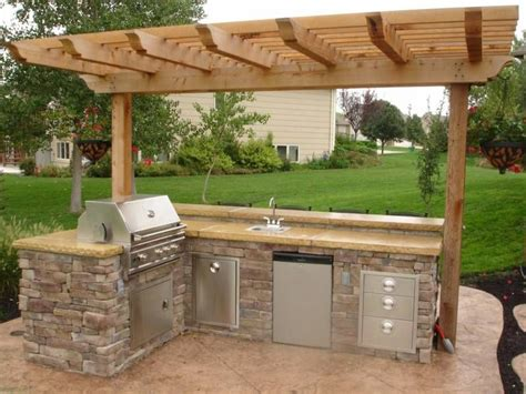 small outdoor kitchen patio ideas pinterest small outdoor kitchens kitchens  backyard