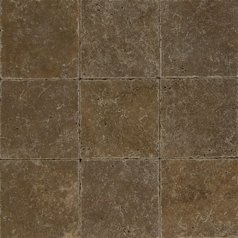 cobblestone tile flooring bedrosians pavers travertine tile cobblestone brown 8 quot x 8 quot natural stone tile trv cobbrn0808t