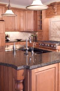 kitchen islands with granite countertops beautiful custom granite kitchen island countertop