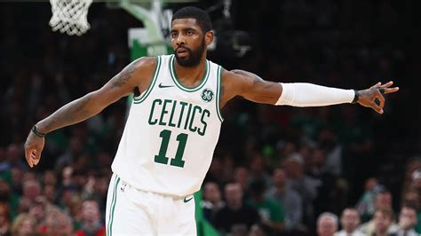 Boston Celtics' Kyrie Irving was 'pretty peaceful' during ...