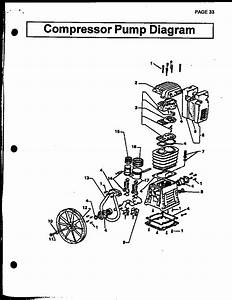 Devilbiss Air Compressor Compressor Pump Diagram Parts