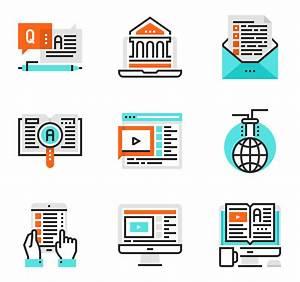 Iconos de E-learning vectoriales - 27 iconos gratis
