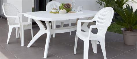 chaises de jardin blanches plastique emejing table de jardin blanche plastique contemporary