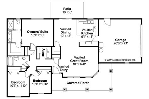 bungalow plans bungalow house plans strathmore 30 638 associated designs