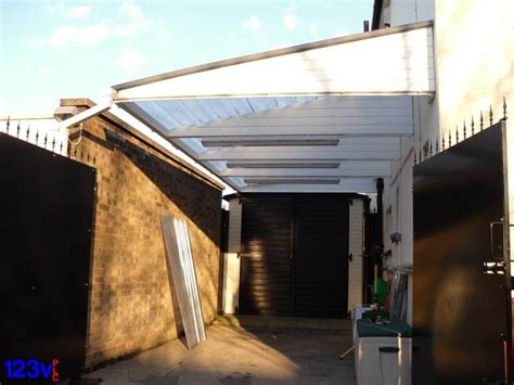 Cantilever Car Ports by Small Cantilever Carport In Oxford Uk 123v Plc
