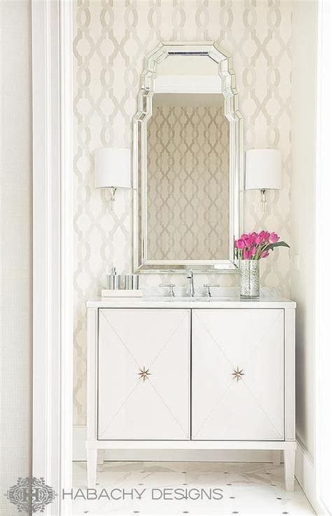 Deco Bathroom Lighting Ideas by 29 Fabulous Wallpaper Ideas To Try For Your Powder