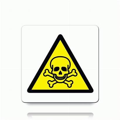 Toxic Warning Symbol Danger Labels Label Flammable