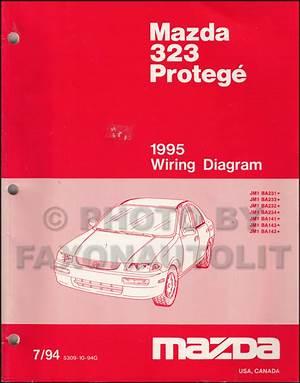 1989 Mazda 323 Wiring Diagram Manual Original 25144 Netsonda Es