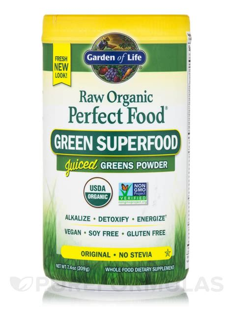 Garden Of Juiced Greens Powder by Organic Food 174 Green Superfood Juiced Greens