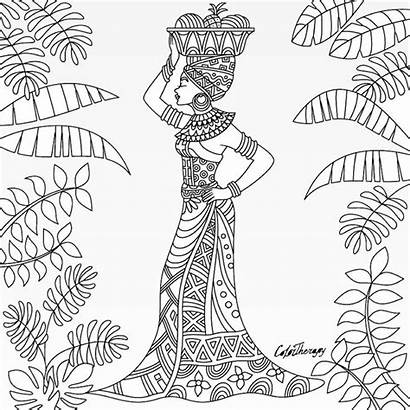 Coloring Pages African Jamaica Sheets Jamaican Adult