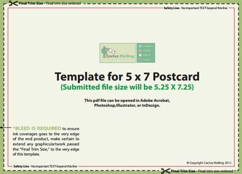 18+ 5×7 Postcard Templates  Free Sample, Example Format
