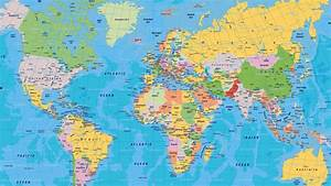 World Map Desktop Wallpaper HD - WallpaperSafari