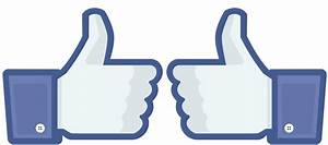 Best Facebook Thumbs Up Vector File Like Thumb Icon Clip ...