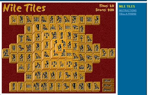 Mahjong Solitaire Nile Tiles by Solitaire Mahjongg A Guide To The World Of The Computer