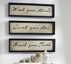 rule of three with bathroom art speakman company With bathroom wall art