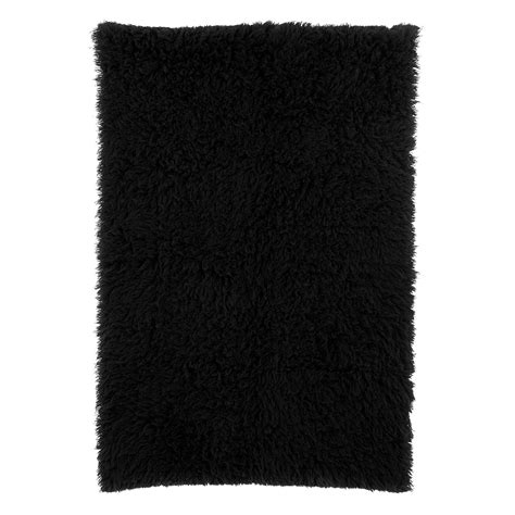 black shag rug la rugs flokati black shag rug flk 007