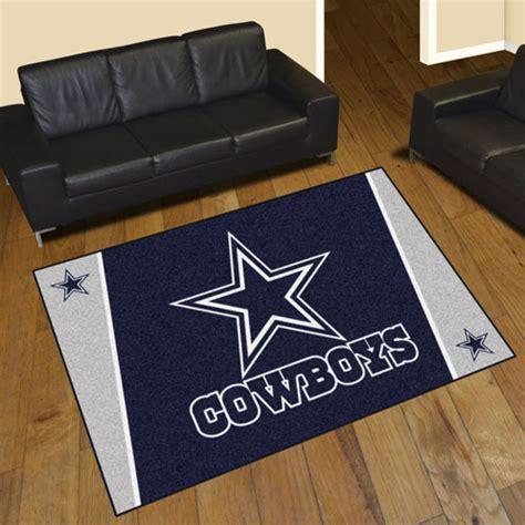 dallas cowboys area rugs nfl logo mats