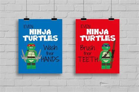 lego ninja turtles prints  ninja turtles wash