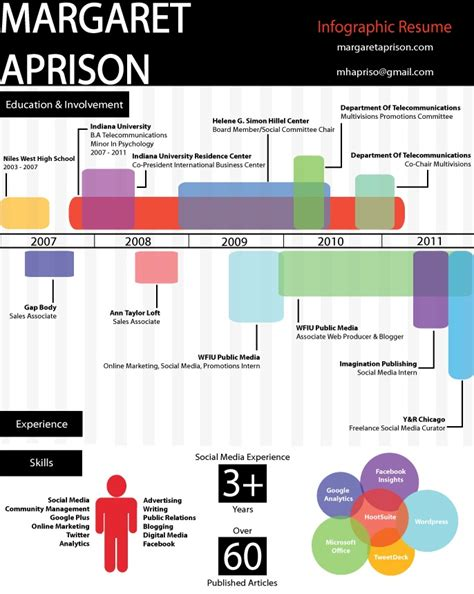 17 Best Images About Infographic And Visual Resumes On