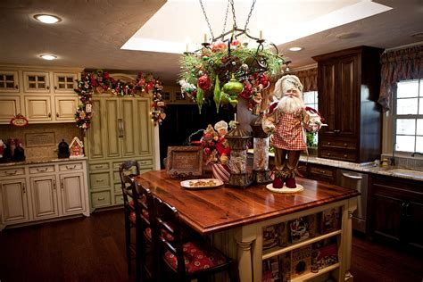 decorating kitchen islands decorating ideas that add festive charm to your