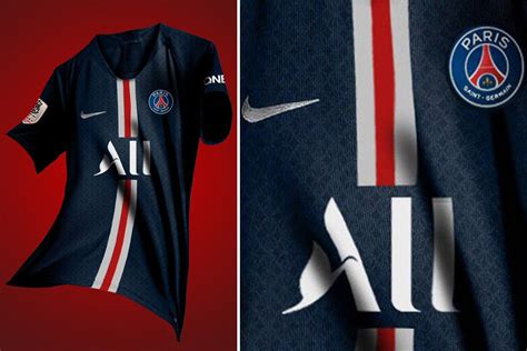 PSG new 2019-20 home kit leaked with new sponsor ALL after ...