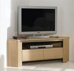 Meuble Tv En Hauteur : meuble tv d 39 angle hauteur 1 m ~ Teatrodelosmanantiales.com Idées de Décoration