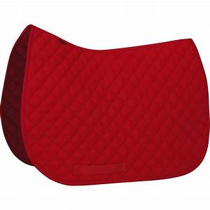 tapis de selle equitation poney et cheval schooling rouge With tapis d équitation rouge