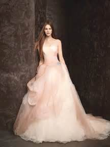 chagne color wedding dress pretty in pink 8 pink wedding dresses to pine