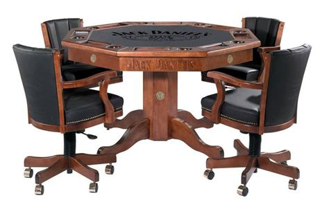 poker table and chips set jack daniels poker table and chairs jd 30951 man cave