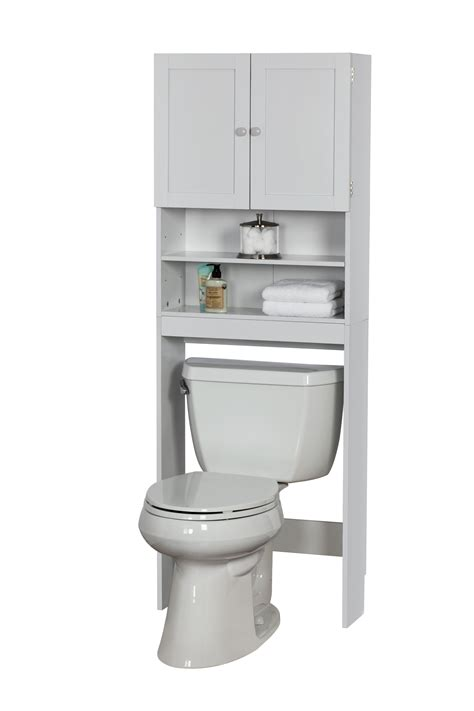 White Space Saver Bathroom Cabinet by Space Saver Sommerset White Home Furniture Bathroom