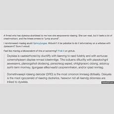 This Is What Reading Is Like If You Have Dyslexia Cnn