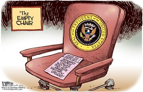 obama empty chair why obama is likely to the second debate