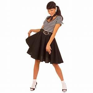 Rock N Roll Deko : fifties rock n roll tellerrock schwarz 50er jahre petticoat rockabilly damenrock grease ~ Sanjose-hotels-ca.com Haus und Dekorationen