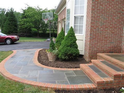 walkway designs for homes fourtitude com new front porch and sidewalk ideas