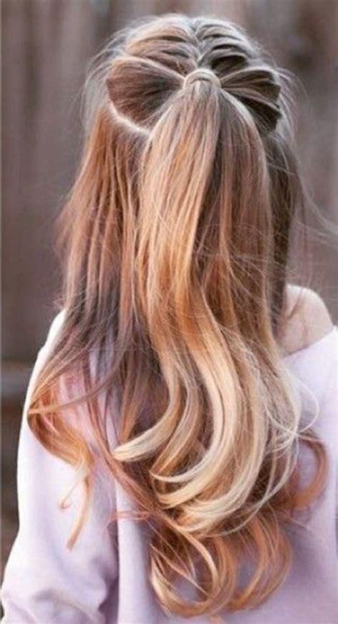 quick  easy hairstyles  school girls