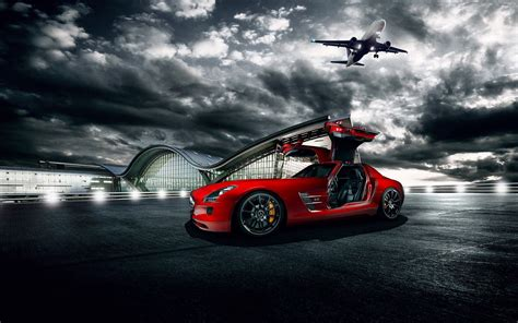 Mercedes Sport Car Wallpaper by 50 Sports Car Wallpapers That Ll Your Desktop Away