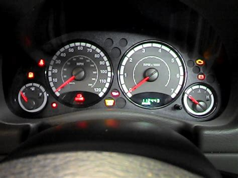 jeep speedometer 2005 jeep liberty speedometer instrument cluster gauges