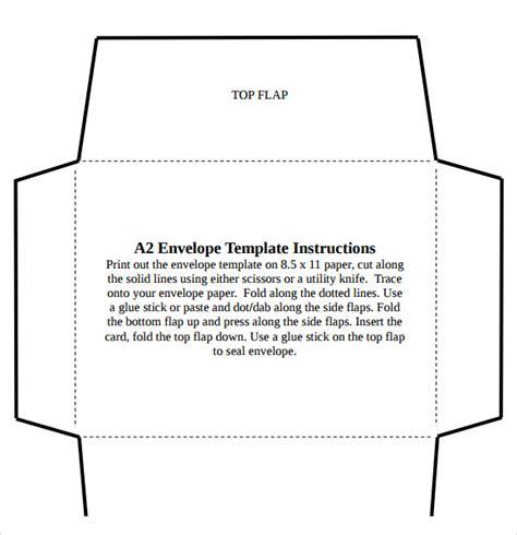 a2 envelope template 8 sle a2 envelope templates sle templates