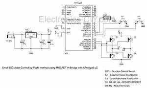 pwm motor driver with mosfet h bridge and avr atmega8 With ac motor speed controller circuit dc drill speed controller circuit dc