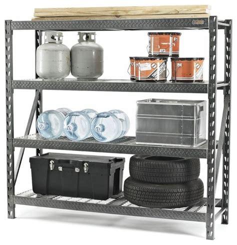 Gladiator Storage Cabinet Shelves by Gladiator Rack Shelving 77w X 72h In Multicolor