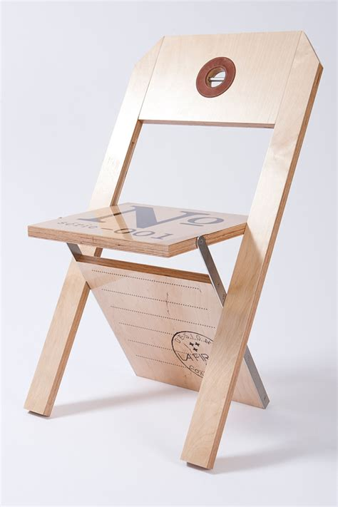 chaise 201 tiquette label chair on behance