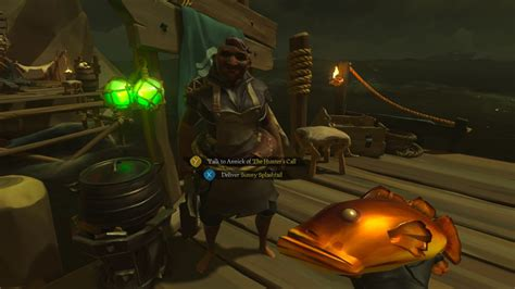 sea  thieves fishing guide locations tips colors