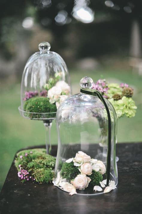 gorgeous glass cloche bell jar wedding ideas page